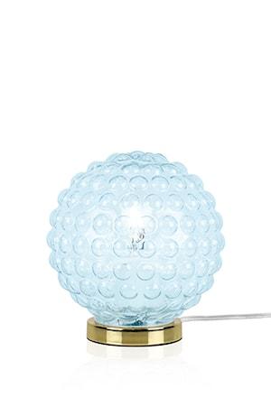 Bild av Globen Lighting Bordslampa Spring Ljusblå / Mässing