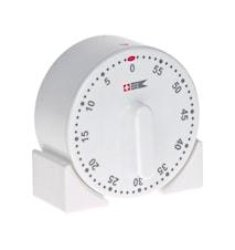 Standard timer med magnet Hvit