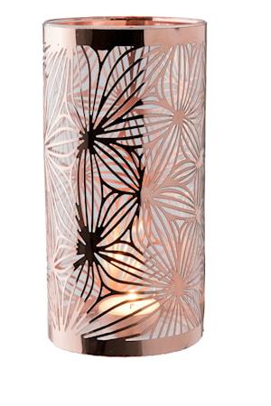 Dorre Lyhty kupari lasiputkella kuvioitu k 20 cm