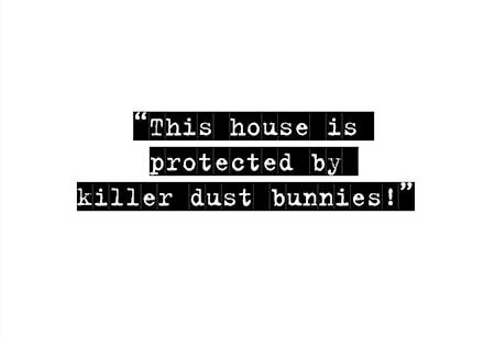 Bild av Itas design This house is protected poster