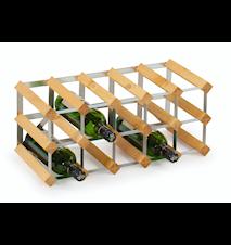 15 pullon Koottava viiniteline, vaalea tammi