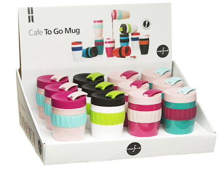 To Go mugg Mix display, 12-pack