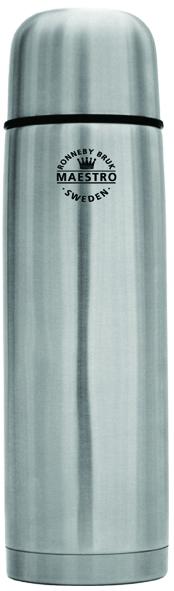 Rostfri ståltermos med Click-kork 0,3 L