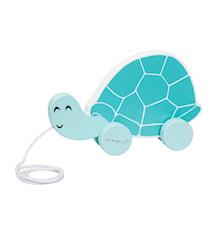 Træklegetøj Skildpadde Blå 20x13