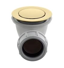 Universal bottenventil pop-up för badkar 22200 Honey Gold