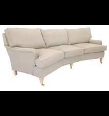 Howard svängd 3-sits soffa
