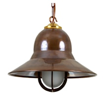 Bandar nautical taklampa - Antique brass