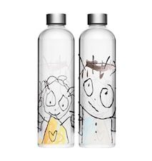 Vattenkaraff Glas 1 Liter
