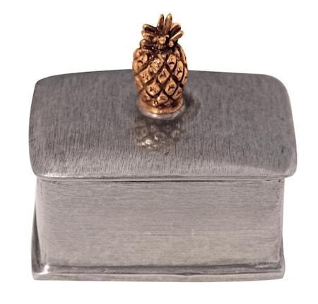 Ananas rektangulär ask