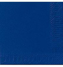 Servietter 33 cm 3-Lag Mørkeblå 50 st