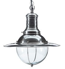 Metal lamp taklampa