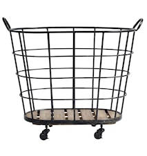 Downtown iron basket