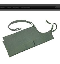 Förkläde sjögrön B75/80cm H90c