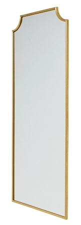 Spirit iron väggspegel - guld