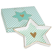 Shine Star Plate SMALL HEART