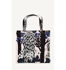 Veljekset Cotton Bag Rosa/Svart/Brun