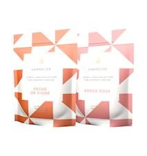 2-pack Doftljus refill Peche De Vigne/ Amber Rose 300g
