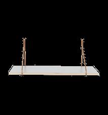 Apart Hylleplan Grå 70x24x1,5 cm