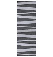 Åre Grå/svart matta 2 m