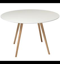 Orso matbord med svartbetsade ekben