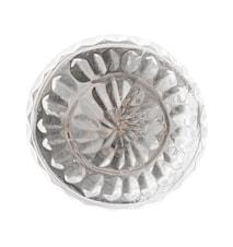 Nobilia Knopp Ø3,5 cm - Klar/sølv