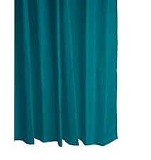 Dusjforheng Polyester Petrol 180x200 cm