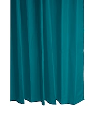 Duschdraperi Polyester Petrol 180x200 cm