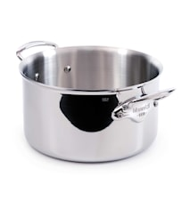 Cook Style Gryta 6,1L blank stål
