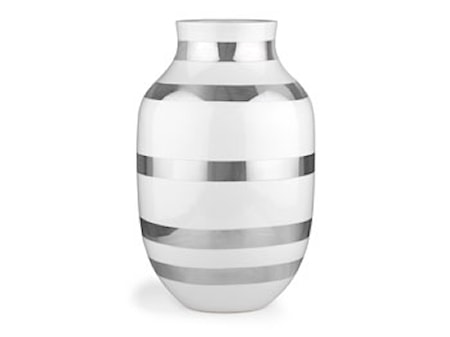 Kähler Omaggio vase H305 silver