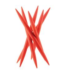 SPICY Knivställ med 6 st köttknivar Orange