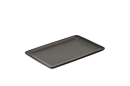 Køb Raw Rekt. Tallerken 23,5 x15 cm - Northern Green online | KitchenTime