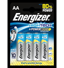 AA Batterier HighTech 4 st