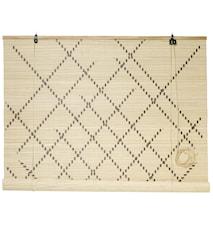 Rullaverho bambu 120x160 cm - Natur