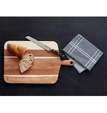 Skärbräda med brödkniv Gåvoset