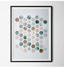 Minimal marble 2 poster