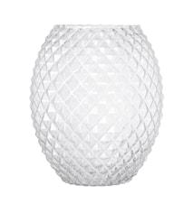 Vas Clear Glass Ø21x25 cm