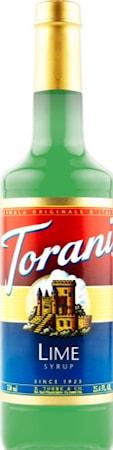 Torani Lime syrup