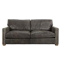 Viscount soffa - 2-sits, Leather fudge