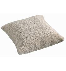 Ace Large Pude fåreskind/uld 50x50 - Moonlight/White