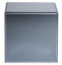 2 st Box mirror sidobord - Silver