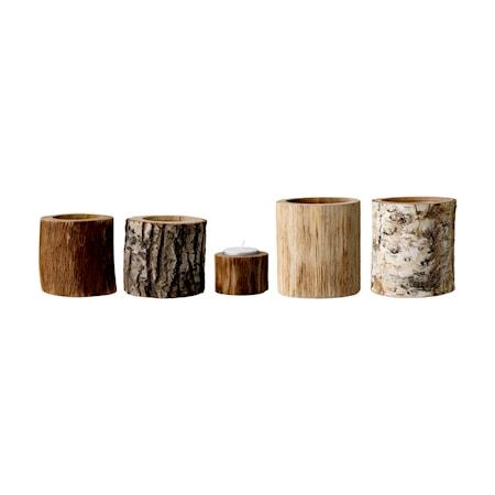Bloomingville Värmeljushållare Natur Trä