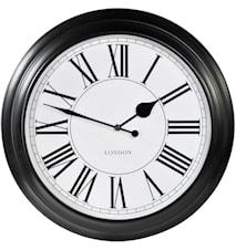 Klocka London Svart 46 cm