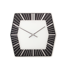 Hexagon Svart 43 cm