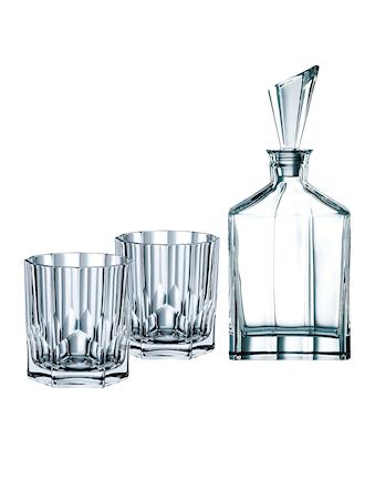 Aspen Karaff och 2st Glas