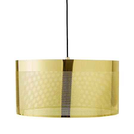 Bild av Bloomingville Pendellampalampa Guld Metall 40x20cm
