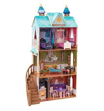 Disney Frozen Arendelle Palace dockhus