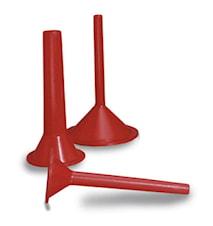 Pølsehorn 3-pakk 10,20,30 mm