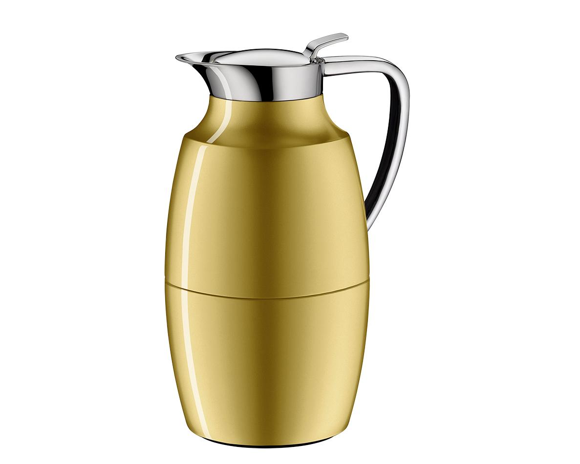 Pallas termoskanna mässingfärgad lack 1 liter