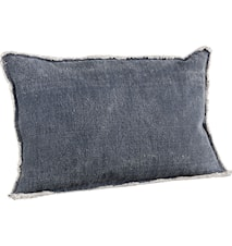 Azur blue kuddfodral + innerkudde