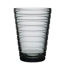 Aino Aalto glas 33 cl grå 2-pack